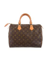 Louis Vuitton - Natural Monogram Speedy 30 Brown - Lyst