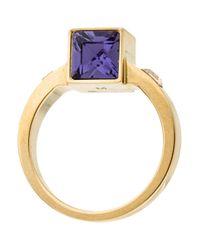 Louis Vuitton - Metallic Gamble Ring Gold - Lyst