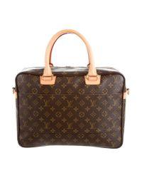 Louis Vuitton | Natural Monogram Icare Bag Brown | Lyst
