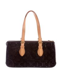 Louis Vuitton - Natural Vernis Rosewood Avenue Bag Brass - Lyst
