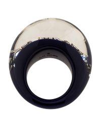 Louis Vuitton | Metallic Inclusion Ring Silver | Lyst