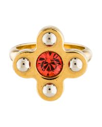 Louis Vuitton - Metallic Love Letters Timeless Ring Gold - Lyst
