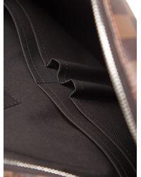 Louis Vuitton - Metallic 2015 Damier Ebene Jake Messenger Bag Brown for Men - Lyst