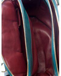 Marc Jacobs - Metallic Leather Handle Bag Green - Lyst