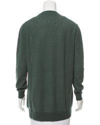 Marc Jacobs - Green Textured Cashmere Sweater Olive - Lyst