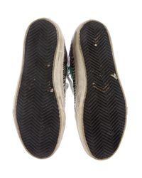 Golden Goose Deluxe Brand - Metallic 2.12 Distressed Sneakers Green - Lyst
