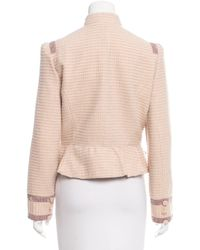 Marc By Marc Jacobs - Natural Marc By Jacobs Wool Bouclé Blazer Pink - Lyst