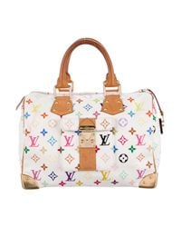 Louis Vuitton - Natural Multicolore Speedy 30 White - Lyst
