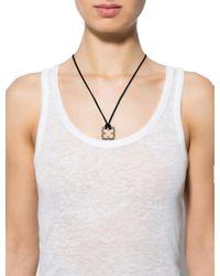 Cartier - Metallic Quatrefoil Pendant Necklace White - Lyst