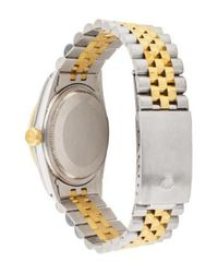 Rolex - Metallic Datejust Watch Gold Tone for Men - Lyst