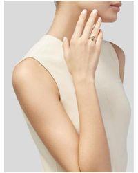 Louis Vuitton - Metallic Gamble Cocktail Ring Gold - Lyst