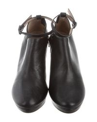 Repetto - Black Terry Round-toe Booties - Lyst