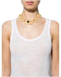 Givenchy - Metallic Chain-link Necklace Gold - Lyst