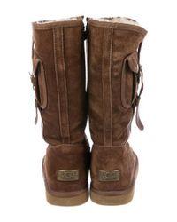 Ugg - Brown Cargo Ii Suede Boots - Lyst