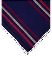 Isabel Marant - Purple Tassel Trimmed Silk Scarf - Lyst