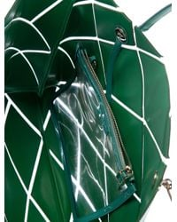 Roger Vivier - Metallic Leather Prismick Tote Clear - Lyst