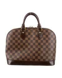 Louis Vuitton - Brown Damier Ebene Alma Pm - Lyst