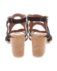 Givenchy - Black Suede Multistrap Sandals - Lyst