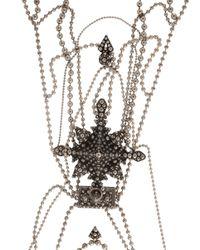 Jean Paul Gaultier | Metallic Les Tatouages Body Chain Silver | Lyst