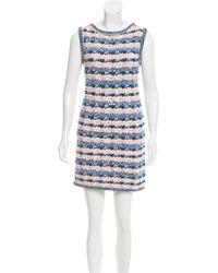 Chanel - White Cruise 2015 Tweed Dress - Lyst