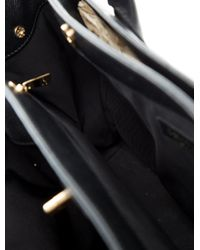 Chanel | Metallic Cerf Tote W/strap Black | Lyst