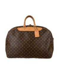 Louis Vuitton - Natural Monogram Alizé 2 Poches Brown - Lyst