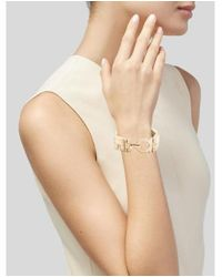 Ferragamo - Metallic Link Bracelet Gold - Lyst