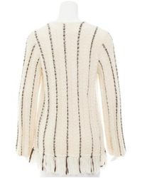 Raquel Allegra - Black Knit Toggle Sweater - Lyst