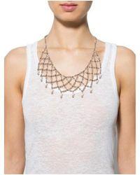 Erickson Beamon - Metallic Crystal & Pearl Multistrand Necklace Gold - Lyst