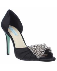 Betsey Johnson   Blue By Gown Dress Sandals   Lyst