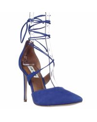 Steve Madden | Blue Raela Strappy Pumps | Lyst