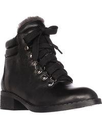 Gentle Souls | Black Brooklyn2 Lined Combat Boots | Lyst
