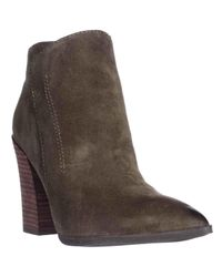 Guess   Green Hardey Pointed-toe Ankle Boots   Lyst
