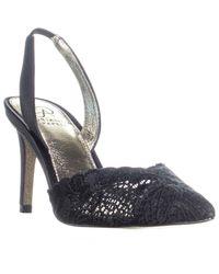Adrianna Papell - Black Hallie Pointed Toe Slip On Sandals - Lyst
