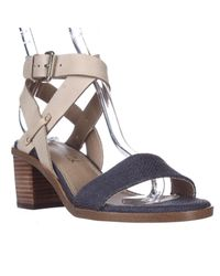 Splendid - Blue Kayman Chunk Heel Sandals - Lyst
