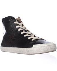 Frye | Black Dylan High Top Fashion Sneakers | Lyst