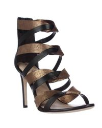Via Spiga | Natural Elyse Strappy Dress Sandals | Lyst