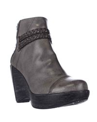 Jambu | Gray Jbu By Wedge Ankle Boots | Lyst