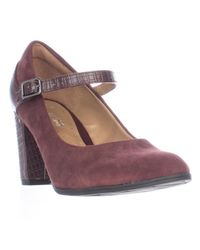 Clarks   Multicolor Bavette Cathy Mary Jane Comfort Pumps   Lyst