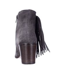 Kenneth Cole | Purple Reaction Rotini Side Fringe Ankle Boots | Lyst