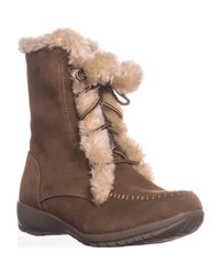 Sporto - Brown Maggie Lined Winter Boots, Chestnut - Lyst