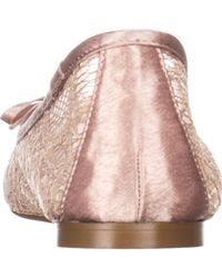Adrianna Papell - Pink Sage Ballet Flats - Lyst