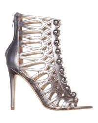 Guess - Metallic Gues Perlina2 Gladiator Ankle Booties - Lyst