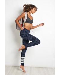 Sundry - Blue Striped Camo Yoga Pant - Lyst