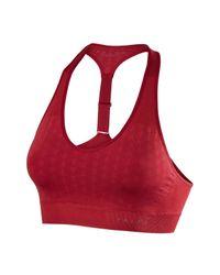 Falke - Red Bra Top Melange Ruby - Lyst