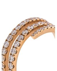 Anita Ko - Multicolor Coil Diamond Ring - Lyst
