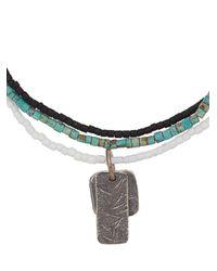 M. Cohen - Multicolor Charm Beaded Bracelet for Men - Lyst