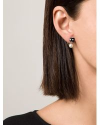 Nektar De Stagni | Black Pearl & Onyx Earrings | Lyst