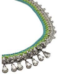 Venessa Arizaga - Green 'bahama Mama' Necklace - Lyst