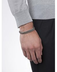 M. Cohen - Multicolor Braided Chain Bracelet for Men - Lyst